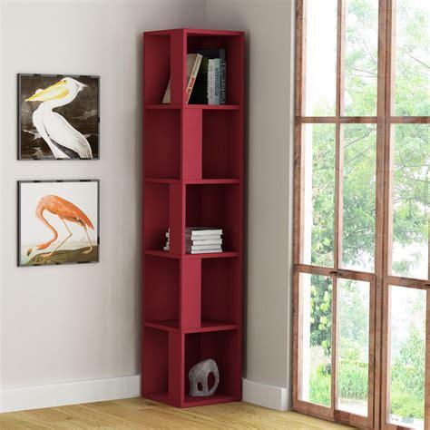 libreria verticale kendal libreria verticale ad angolo salvaspazio