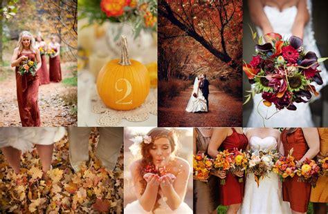 wedding colour themes autumn fall wedding ideas 2015 wedding and bridal inspiration