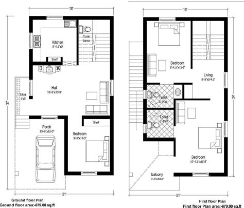 home design 20 x 40 40 x 20 house plans