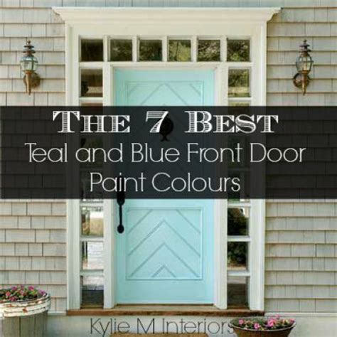 7 best teal and blue front door colours behr benjamin and sherwin the o jays gray and behr