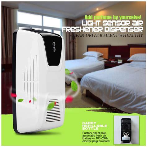 Best Seller Jual Automatic Sensor Aerosol Dispenser Pengharum light sensor automatic air freshener for hotel home toilet regular perfume sprayer machine