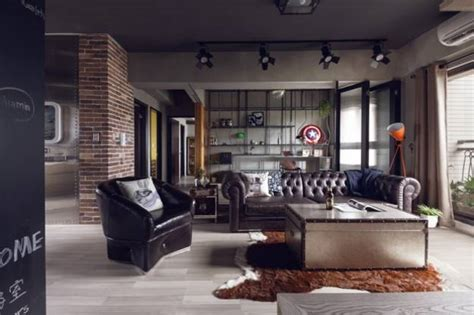 masculine decorating ideas masculine interior design with industrial accents inspired
