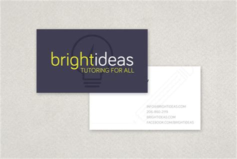 tutoring business cards template modern tutor business card template inkd