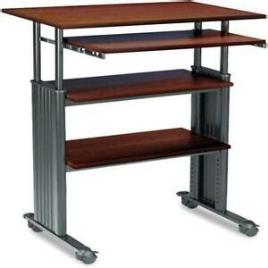 safco adjustable height stand up workstation home office