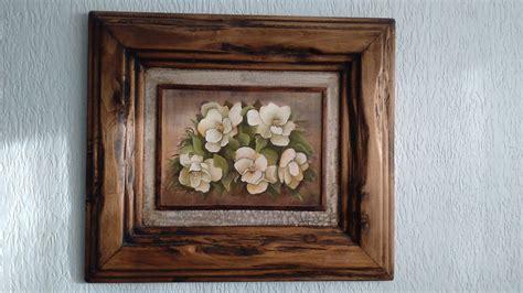 cuadros madera cuadros marcos rusticos artesanales en madera 2 500