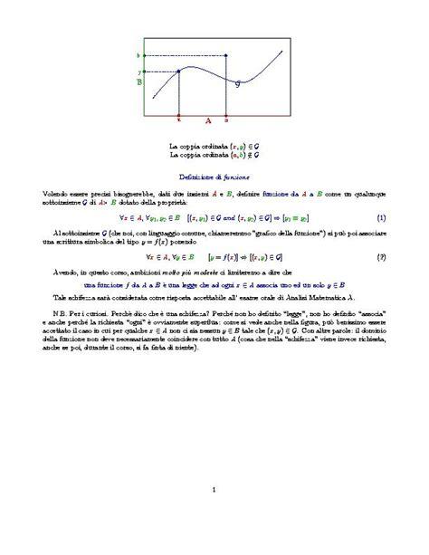 teorema testo qualche appunto di analisi matematica 1