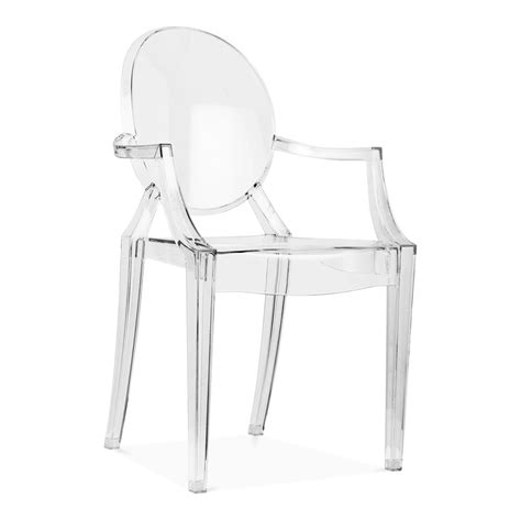 louis ghost armchair clear ghost style louis armchair modern armchairs cult uk