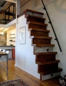 how to build stairs in a small space vintage chic 183 blog decoraci 243 n vintage diy ideas para decorar tu casa un loft en un