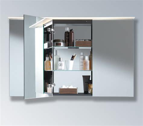 duravit illuminated bathroom mirrors cabinets designcurial duravit delos 3 doors mirror cabinet dl754300000
