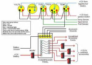 simple wiring general instrument schematic restorepontoon