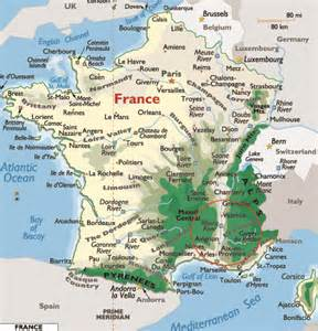 Map Of Provence France by Detailed Map Of Provence France Pictures To Pin On
