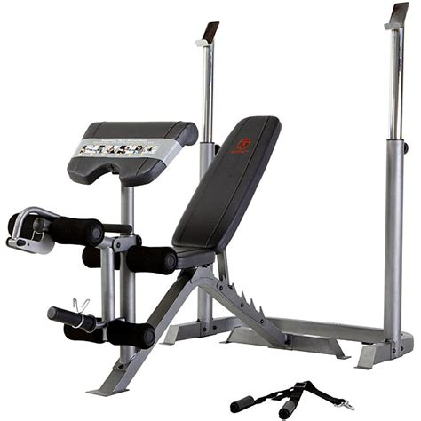 marcy classic bench marcy mid size weight bench 12363607 overstock com