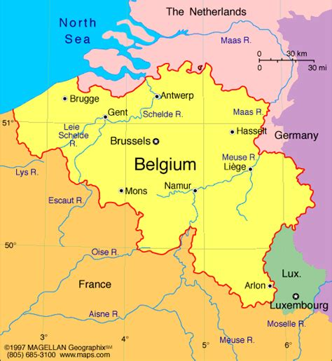 belgica map atlas belgium