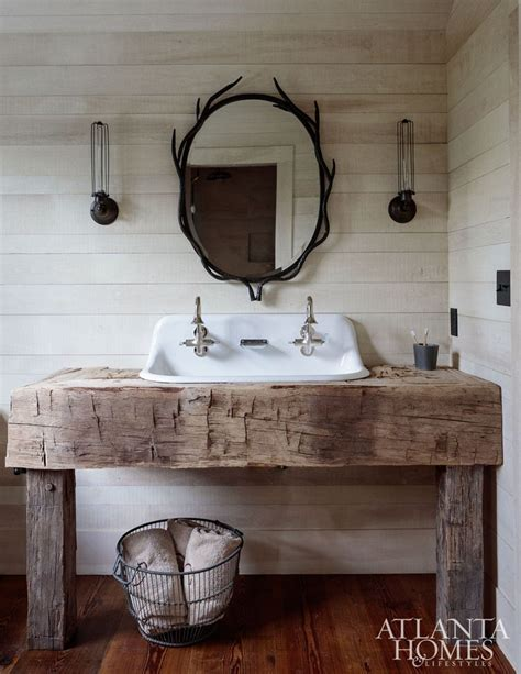 rustic bathroom rustic farmhouse style bathroom design ideas 5 hoommy com