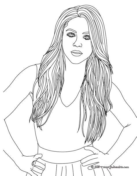 realistic girl coloring page coloriages portraits de femmes adultes