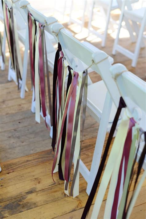 Decorate Chairs For by Chair Decor Decorate Chairs With Simple Lengths Of Ribbon