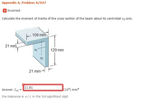 cross section calculator calculate the moment of inertia of the cross secti