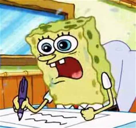Spongebob Boating Essay by Spongebob Writing Blank Template Imgflip