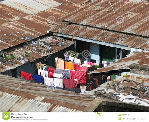 House Plans In Kenya slums in africa royalty free stock photo image 18729075