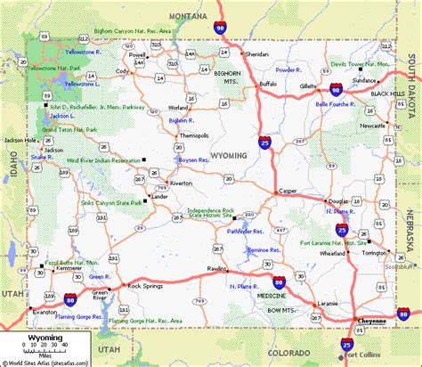 wyoming road conditions map wyoming county map with cities wyoming pet friendly road map by 1 click wyoming