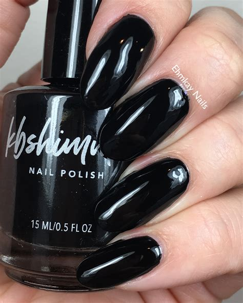 Eclipse Nail kbshimmer eclipse black nail