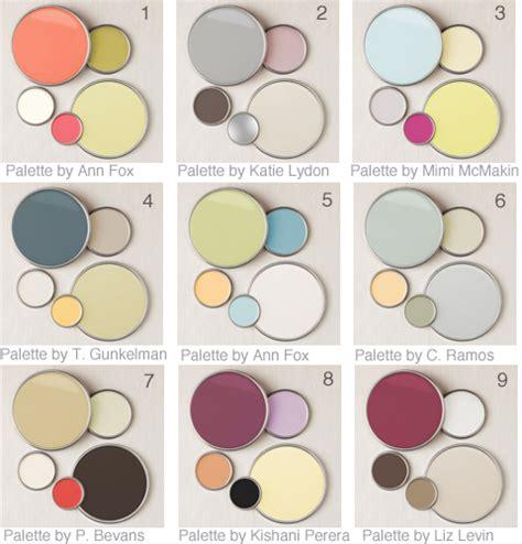 home decor color palettes 9 designer color palettes
