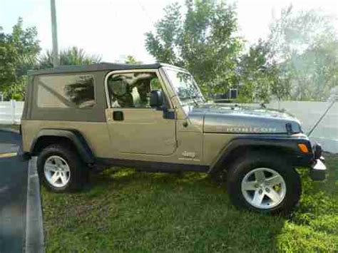Jeep Wrangler 4 Door 2005 Sell Used 2005 Jeep Wrangler Unlimited Rubicon Sport