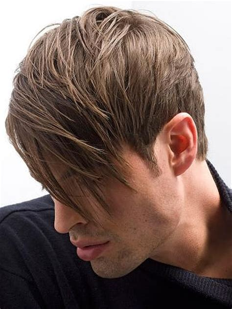 in back longer in front mens hairstyles hairstyles guys bangs