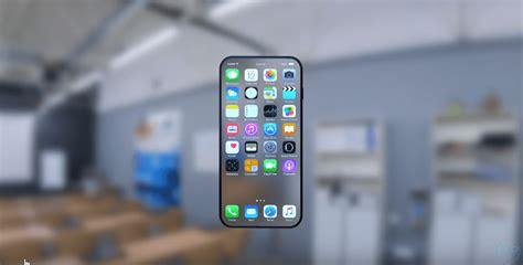 insane iphone  concept features transparent display