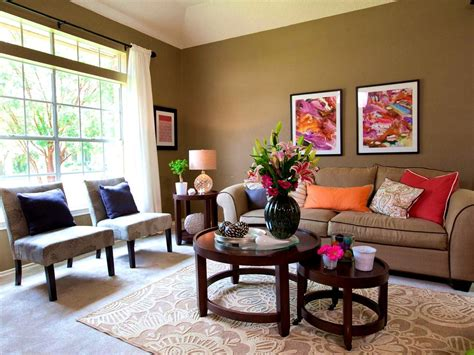 apartments splendid earth tone living room green wall