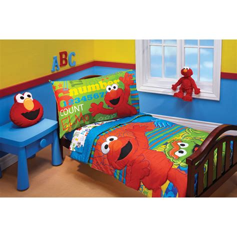Elmo Toddler Bedding Set Elmo Bed Sheets Bedding Sets Collections