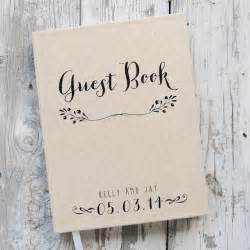 personalized wedding guest book wedding guest book wedding guestbook custom guest book