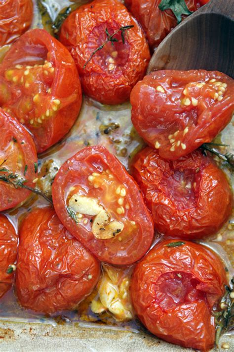 roasted tomatoes recipe summertime baked tomatoes