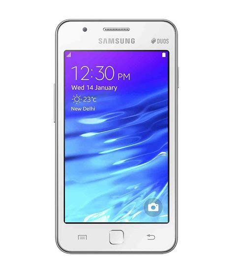 z1 mobile phone samsung z1 tizen 4gb white mobile phones at low