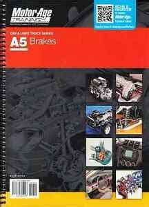 A5 Ase Automotive Brakes Test Prep Home Study Manual Guide
