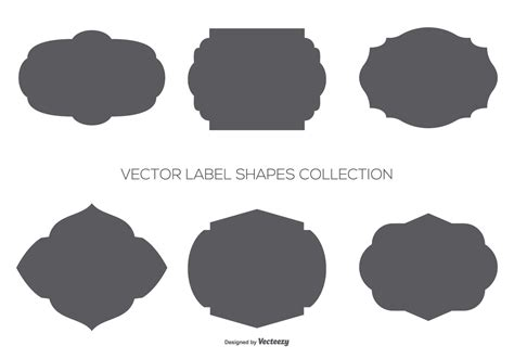 Free Download Vector Label vector label shapes collection free vector