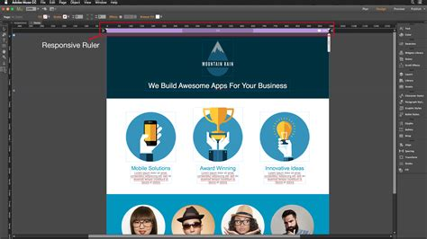 creating responsive websites with adobe muse creativepro