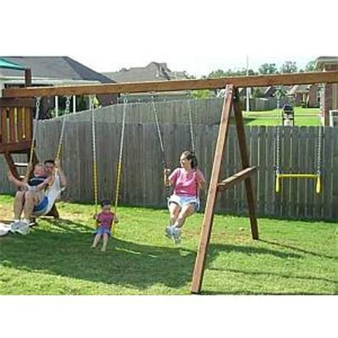 a frame swing set kit swing set accessories for wooden swing sets playsets