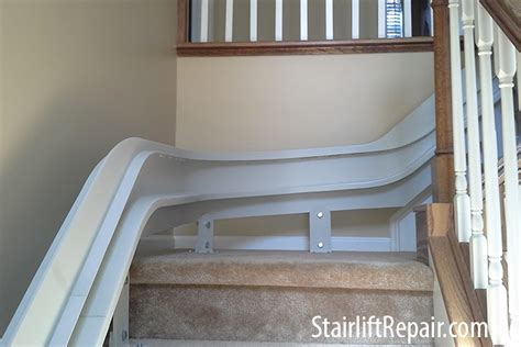 curved stair lifts bruno cre 2110 elite curved stair lift tracks stairliftrepair