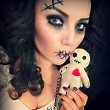 Homemade Broken Doll Costume | 612 x 612 jpeg 54kB