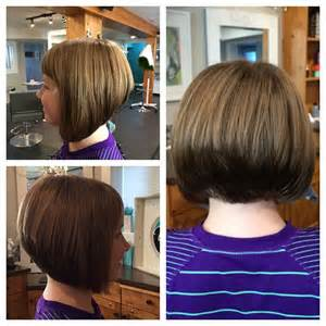 stacked bob haircut with bangs 21 gorgeous stacked bob hairstyles popular haircuts