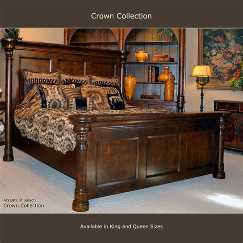 crown bedroom furniture crown collection king bed