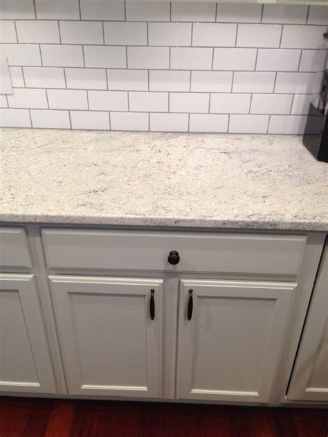 subway tile backsplash kitchen thornapple kitchen before and after romano blanco