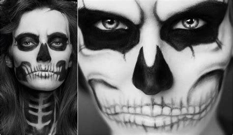 maquillaje para hombres esqueleto calaveras pintadas en el rostro hombres imagui