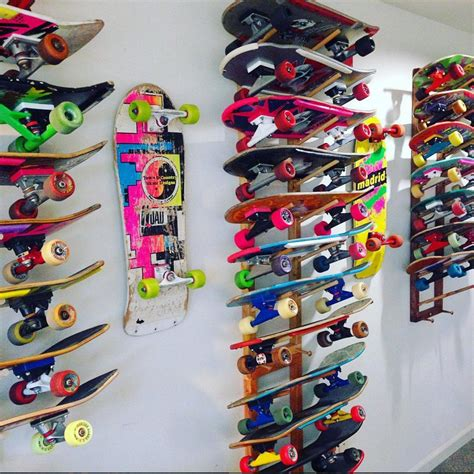 All Collection racks for all types of skateboard collections