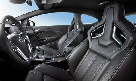 opel astra opc interior 2012 opel astra opc gets 280 horsepower 155 mph top speed