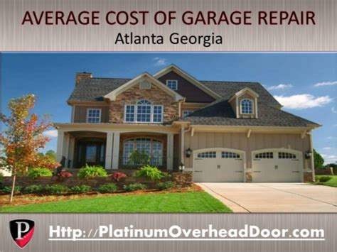Garage Door Repair Atlanta Ga Average Garage Door Repair Costs In Atlanta