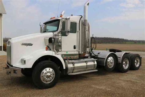 kenworth t800 heavy haul for sale kenworth t800 2009 daycab semi trucks
