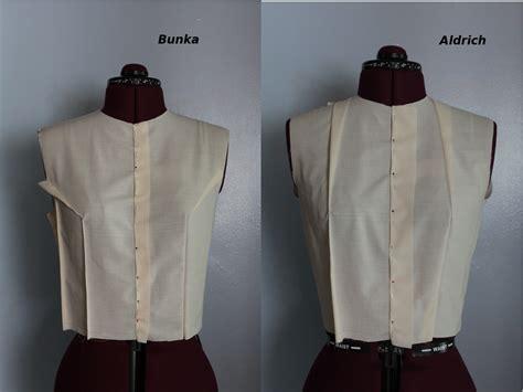 basic sloper sewing patterns sewing blog burdastyle com comparing close fitting slopers bunka vs aldrich