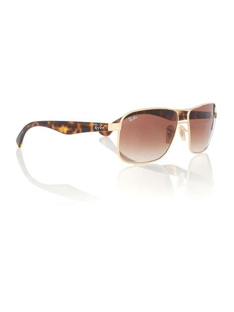 Gradient Sunglasses ban s brown gradient square sunglasses in brown